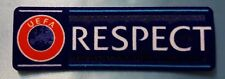 patch toppa scritta respect europa champions league nuova originale 2018 2017