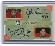 2005-06 ITG Heroes and Prospects Dual Auto /15 #DADT Yann Danis/Jose Theodore