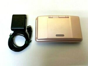 Nintendo DS Original NTR-001 Console w/ Charger Pink Tested Works impot japan