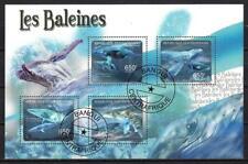 Centrafrique 2011 Baleines (207) Yvert n° 1972 à 1975 oblitéré used