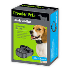 Premier Pet BARK COLLAR • AUTOMATIC BARK CONTROL • 15 LEVELS • VIBRATION • DOG