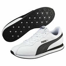 Puma Turin II 2 White Black Men Sz 8, 9, 9.5 Running Casual Sneakers 366962-04