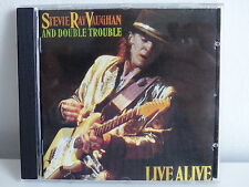 CD ALBUM STEVIE RAY VAUGHAN Live alive 466839 2