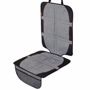 LCP Kids XL Auto Kindersitzunterlage Isofix geeignet Sitzschoner Sitzschutz Grau