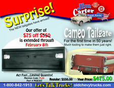 1955 1956 1957 1958 Chevrolet Cameo Tailgate NEW