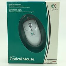 BRAND NEW SEALED Logitech OPTICAL PRECISION & PERFORMANCE WIRED PC/MAC Mouse