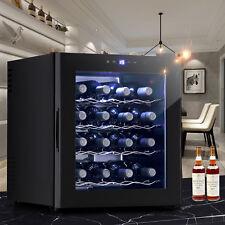 16 Bottles Thermostat Electric Wine Cooler Refrigerator Cellar Bar Wine Rack
