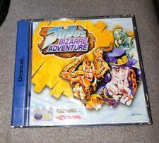 Sega Dreamcast DC Jojos bizarre Adventure NEU NEW SEALD in Folie OVP PAL CIB