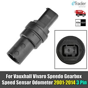 For Vauxhall Vivaro Van Speedo Gearbox Speed Sensor Odometer 2001-2014 3 Pin