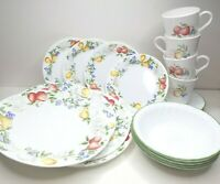Corelle Corning Chutney (4) 5 PIECE SETS Dinner Bread Plates Bowls Cups Saucers