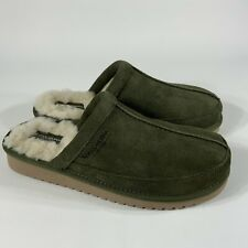 Koolaburra by UGG 1105891 slippers mens size 8 green