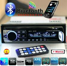 1 DIN Autoradio radio de coche bluetooth manos libres car USB TF AUX MP3 4x60W