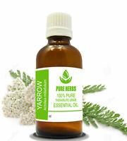 Yarrow 100% Pure & Natural Undiluted Uncut Achillea millefolium Essential Oil