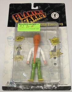 Bob Burden SIGNED Flaming Carrot Action Figure Dark Horse #630/1000 Green Pants