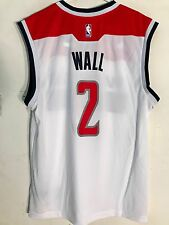 Adidas NBA Jersey Washington Wizards Wall White sz M