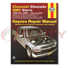 GMC Sierra 2500 HD Haynes Repair Manual SLE WT SLT Base Shop Service Garage nh