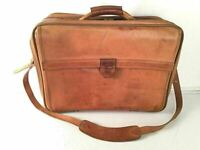 Hartmann Carry On Vintage Belting Leather Sexy Laptop Luggage Travel Brief RARE