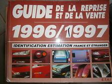 livre guide de la reprise et de la vente 1996-1997 ETAI