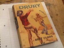 drury bert cloos hardback 1961