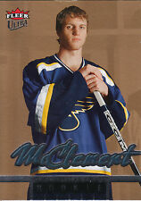05-06 FLEER ULTRA GOLD MEDALLION ROOKIE RC #243 JAY MCCLEMENT BLUES *2497