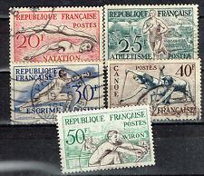 France Sport stamps set 1942