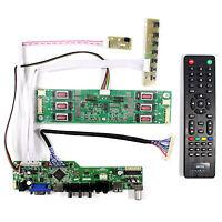 TV HDMI VGA AV USB LCD Driver Board For M201UN02  LTM201U1-L01 1600x1200 LCD