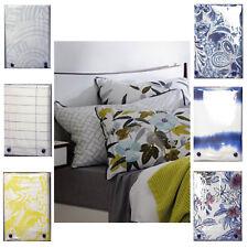 Pair--Sheridan Sarai Bamboo Floral Print Reversible Standard Pillowcase