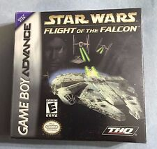 STAR WARS Flight of the Falcon Game Boy Advance & Nintendo DS -3Pics Sealed =NEW