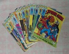 Comic Spiderman: Lote de 36 numeros - Editorial Bruguera