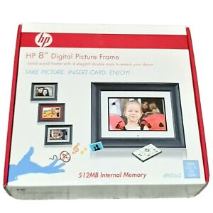 "HP 8"" Digital Picture Frame 512MB Eternal Memory df820a2"