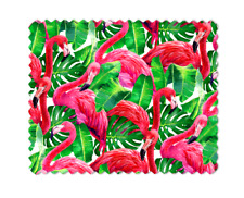 FLAMINGO MICROFIBER LENS GLASSES CLEANING CLOTH