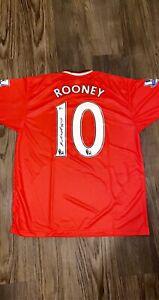 Wayne Rooney Signed Manchester United NIKE On Field Jersey Beckett COA!