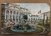 Vintage Postcard Auditorium, Jamestown Exposition 1907 .Postmarked 1907