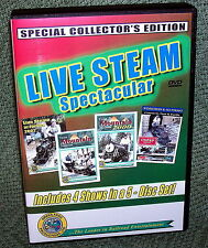 "20254 DVD VIDEO BOX SET ""LIVE STEAM SPECTACULAR"" BACKYARD TRAINS"