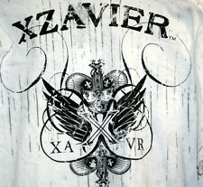XZavier Graphic Urban Mens XL T Shirt Shake Down Skulls Hip Hop Free Shipping