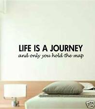 WALL ART vinyl decal sticker LIFE IS A JOURNEY quote