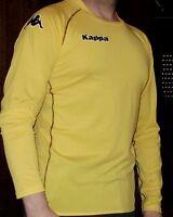 "Trikot von KAPPA Gelb Gr. XL/56/58) ""BERGAME M"" Shirt Langarm"