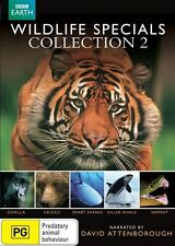 David Attenborough - Wildlife Specials - Collection 2 : NEW DVD