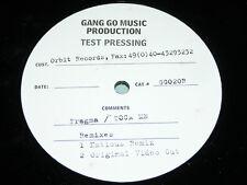 "FRAGMA - TOCA ME (REMIXES) House, Trance 12"" 1999 Test Pressing, Natious Remix"