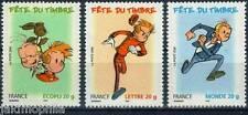Y&T n° 3877a + 3878 + 3879  Fête du timbre les 3 timbres du carnet 2006  NEUF **
