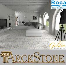ARCKSTONE Pavimento Piastrella Gres Porcellanato Roca Tiles Gracia Blanco Bianco