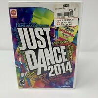 Just Dance 2014 Nintendo Wii Game Complete With Manual Tested