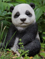 Panda Figurine Drowsing - Life Like Figurine Statue Home / Garden New