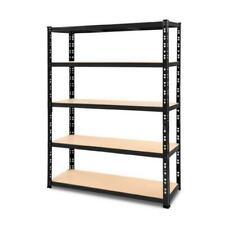 Giantz Storage Shelf Rack 120x40x80 cm - Black (WR-E-12X18-BK)