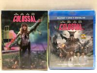 NEW COLOSSAL BLU RAY + DVD + DIGITAL + LENTICULAR SLIPCOVER ANNE HATHAWAY