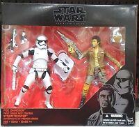 Hasbro Star Wars Black Series Poe Dameron and Stormtrooper 6 Inch Figure
