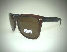 NEW men's TOMMY HILFIGER TH CONRAD brown square retro sunglasses