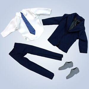 "11.5"" Doll Clothes Lot Shoes Fashion Pack Tuxedo Wedding Suit Shirt fits Ken"