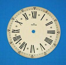 Vintage Waltham Clock Face Dial