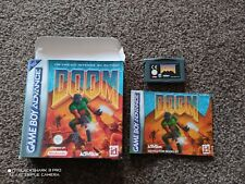 DOOM Nintendo gameboy advance game boxed complete